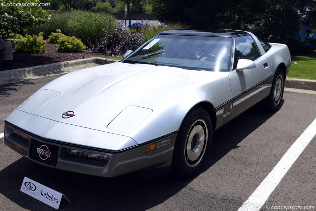 1984 Chevrolet Corvette C4 L83 Sixth Generation