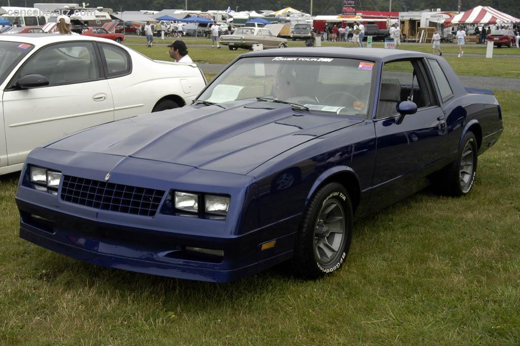 Auction results and data for 1985 Chevrolet Monte Carlo ...