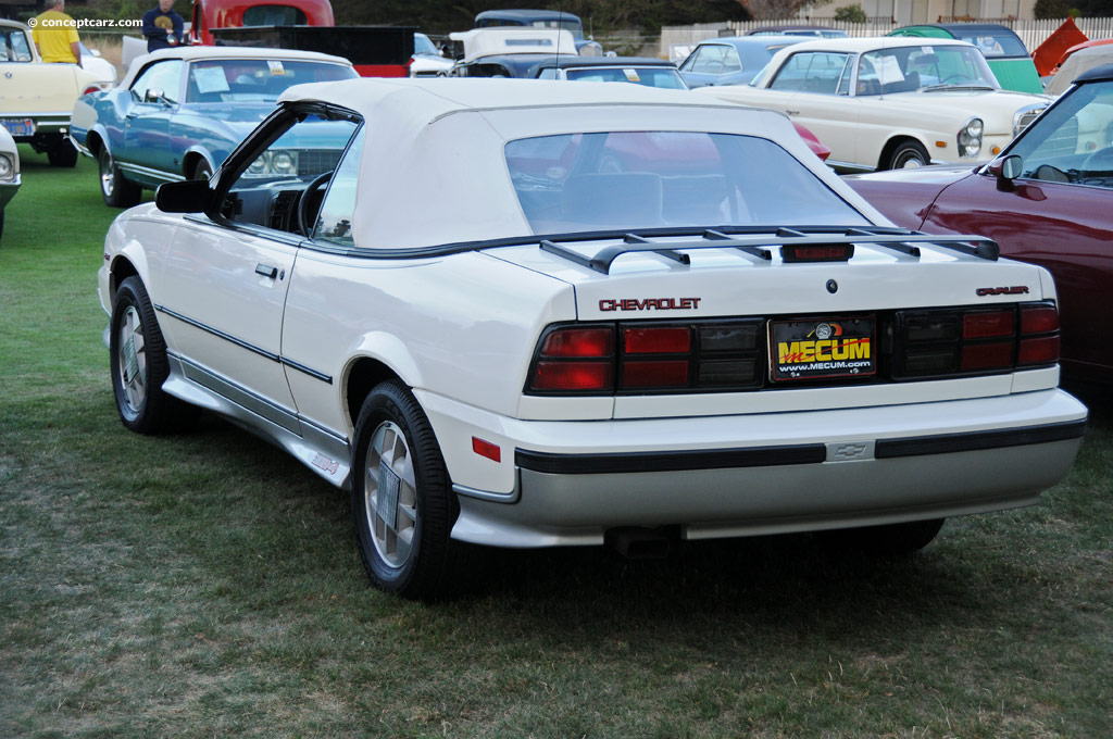 1988 Chevrolet Cavalier Pictures History Value Research News