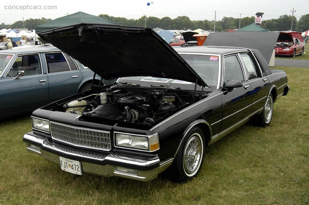1989 Chevrolet Caprice Classic  Conceptcarz