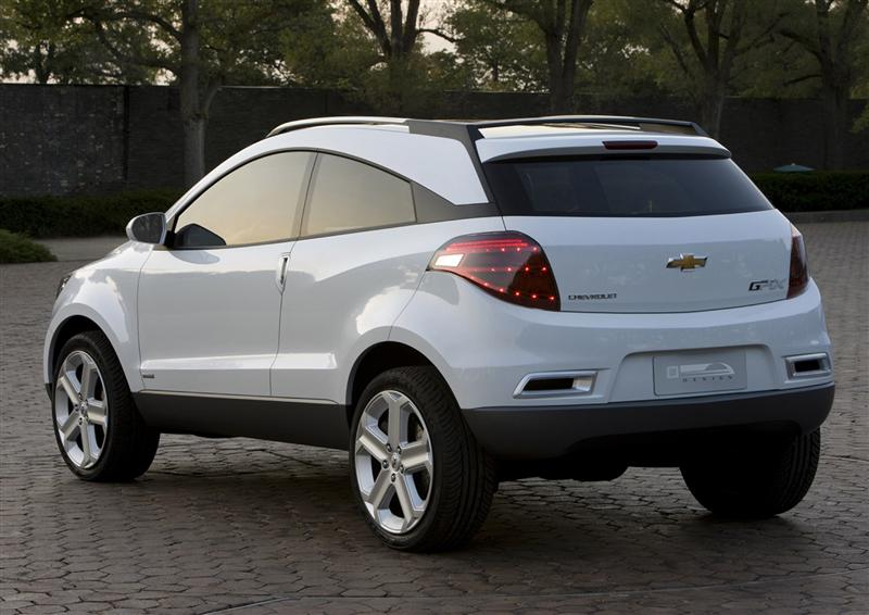 2009 Chevrolet GPiX Crossover Coupe Concept thumbnail image