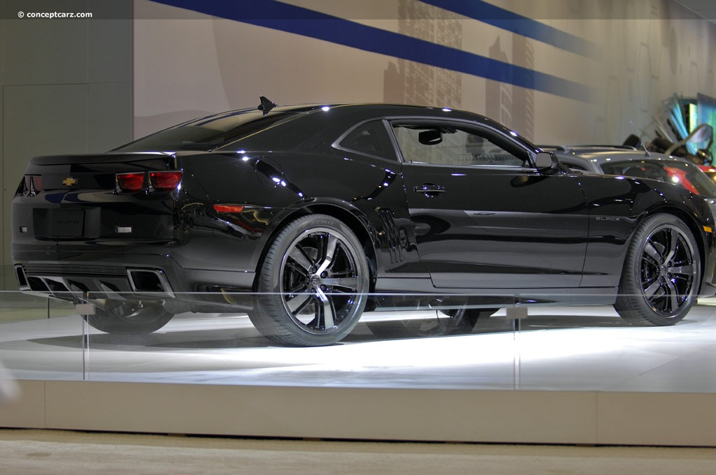 2010 chevrolet camaro black concept. Cars Review. Best American Auto & Cars Review
