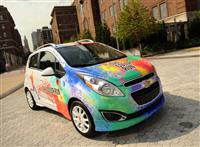 2013 Chevrolet Color Run Spark image.