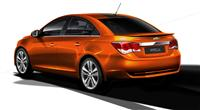 2014 Chevrolet Cruze RS Plus Concept image.