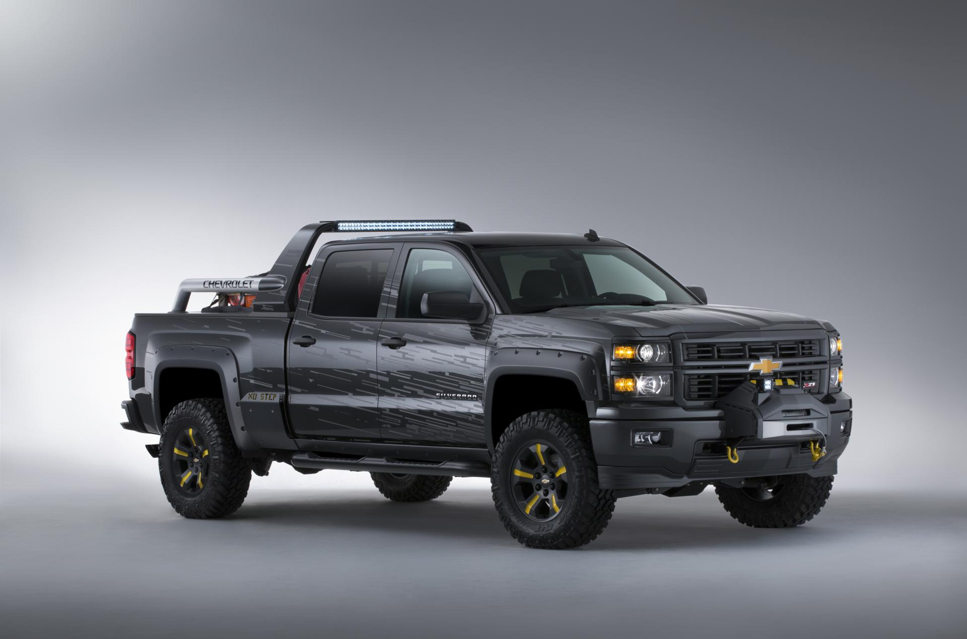 2014 chevrolet silverado black ops concept pictures news research pricing. Black Bedroom Furniture Sets. Home Design Ideas