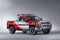 2014 Chevrolet Silverado Volunteer Firefighter Concept image.