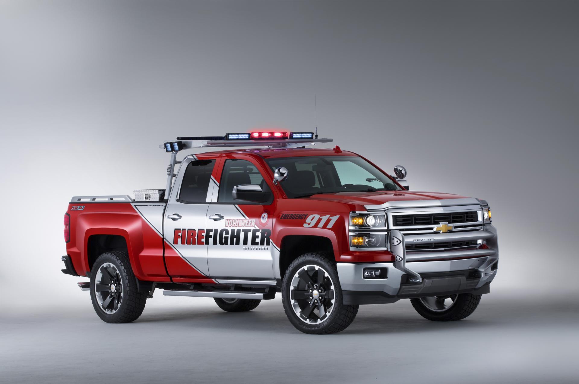 2016 Ram 1500 >> 2014 Chevrolet Silverado Volunteer Firefighter Concept - conceptcarz.com
