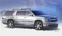 2013 Chevrolet Suburban Half-Pipe Concept image.