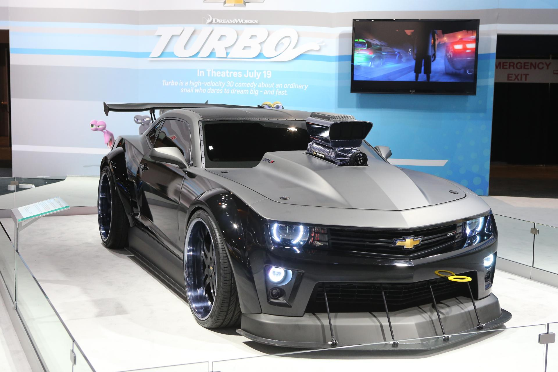 2013 Chevrolet Turbo Camaro Concept Pictures News