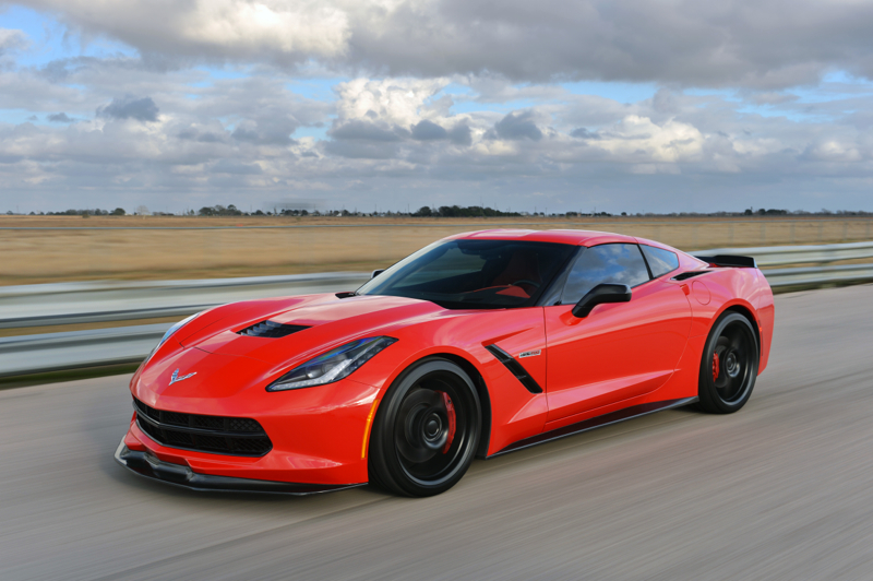 Chevrolet HPE700 Twin Turbo Corvette