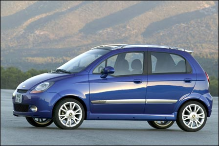 2005 chevrolet matiz pictures history value research news. Black Bedroom Furniture Sets. Home Design Ideas