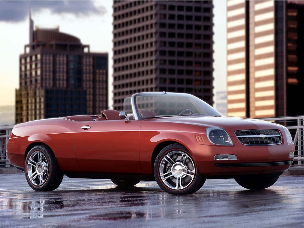 2002 Chevrolet Bel Air Concept Pictures History Value