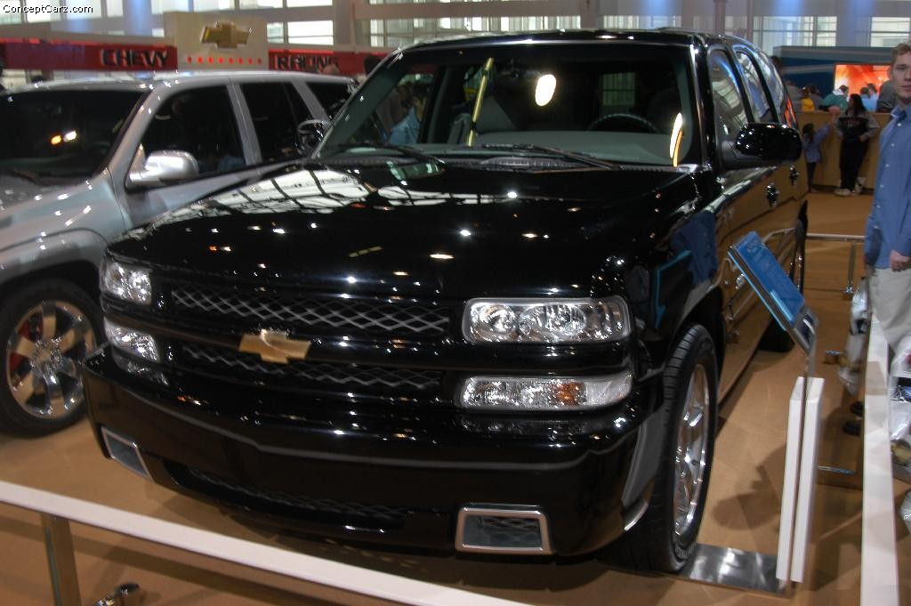 2003 chevrolet tahoe images photo chevy taho ss concept chicago 03 dv. Black Bedroom Furniture Sets. Home Design Ideas