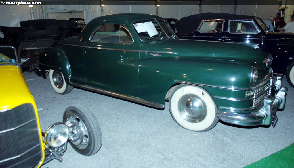 1947 Chrysler Windsor Pictures History Value Research