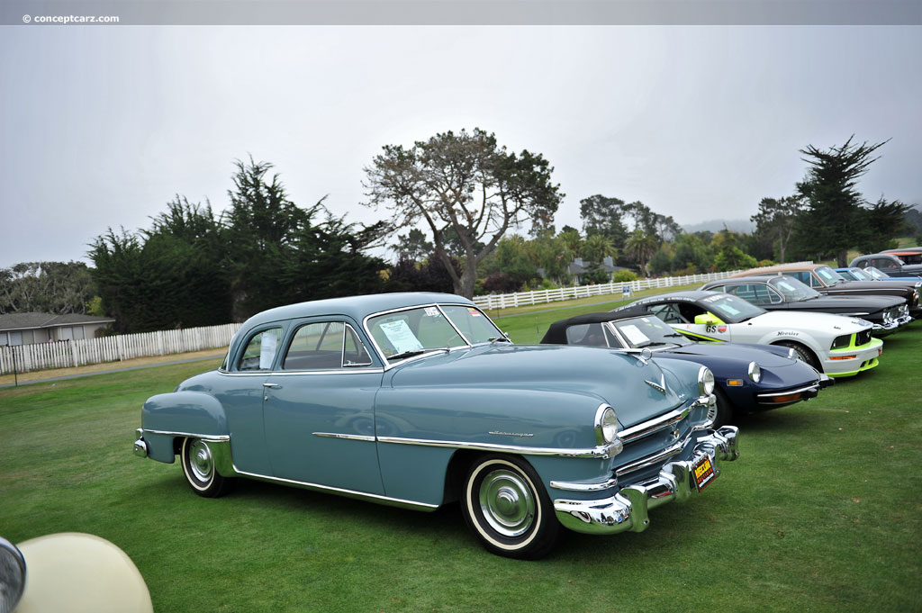 1952 Chrysler New Yorker - Information and photos - MOMENTcar