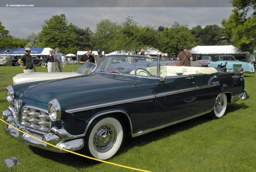 1955 Chrysler Imperial Prototype Pictures History Value