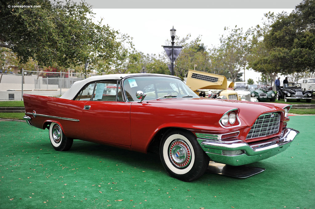 1958 Chrysler 300d Pictures History Value Research