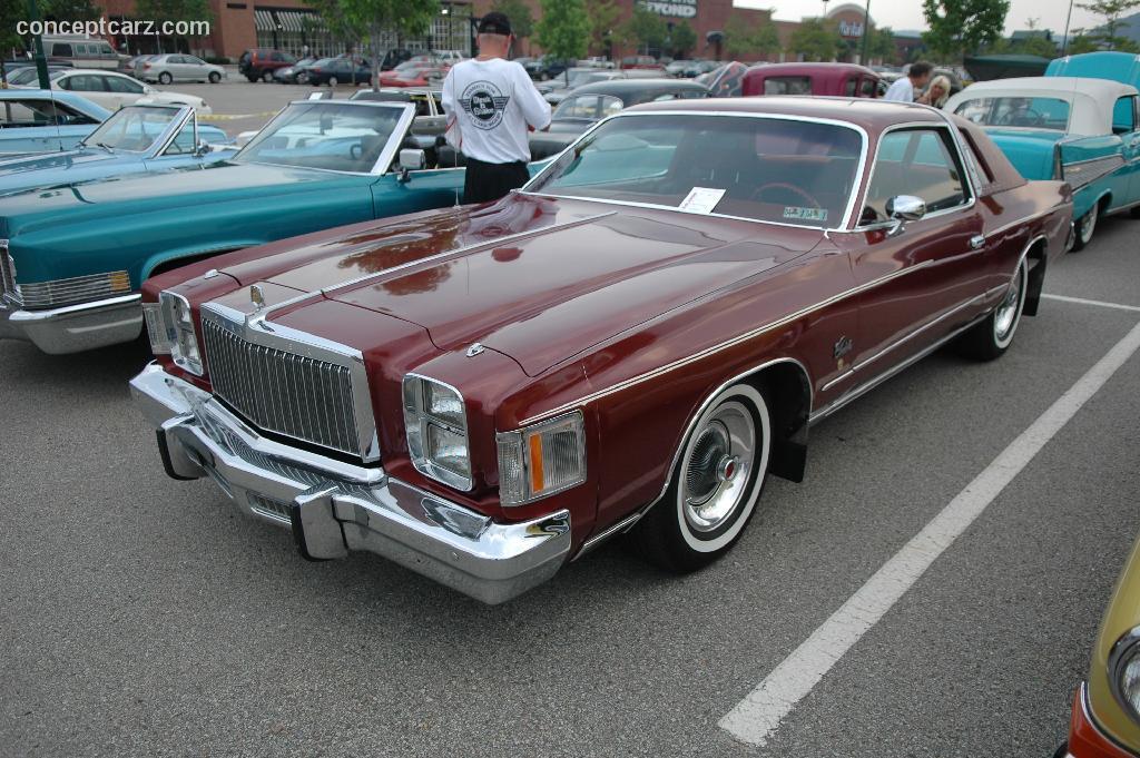 1979 Chrysler Cordoba Conceptcarz Com