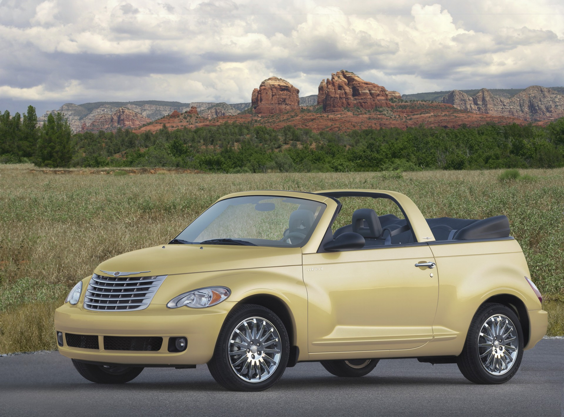 2007 chrysler pt cruiser convertible pictures history. Black Bedroom Furniture Sets. Home Design Ideas