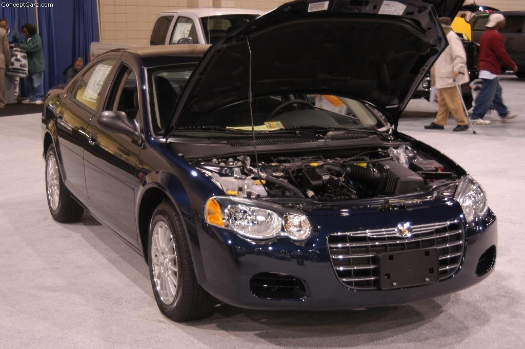 Auction Results And Data For 2004 Chrysler Sebring  Silver