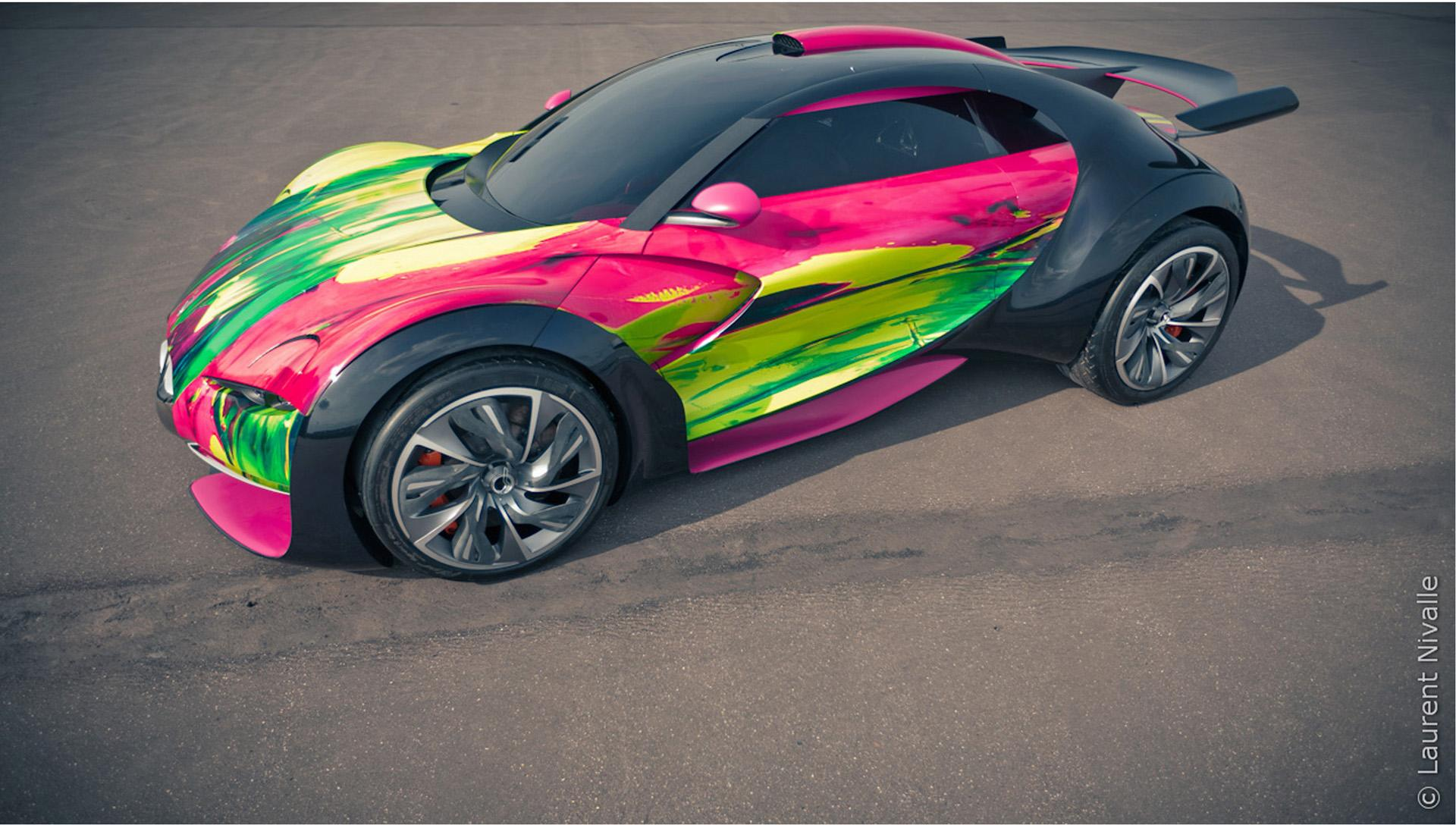 2010 citroen survolt art car concept conceptcarz vanachro Images