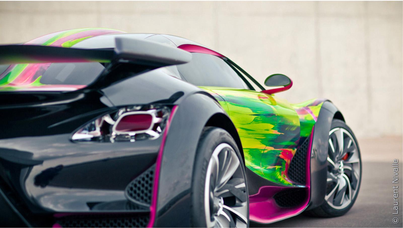 2010 citroen survolt art car image 02g 2010 citroen survolt art car concept vanachro Images