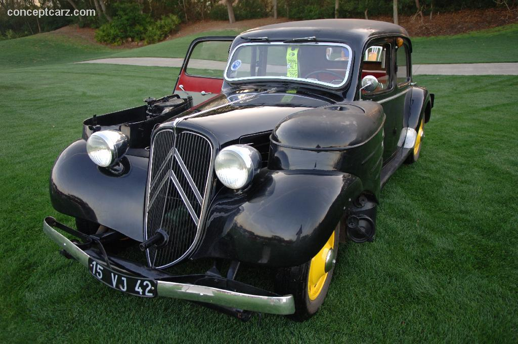 1938 citroen traction avant pictures history value research news. Black Bedroom Furniture Sets. Home Design Ideas