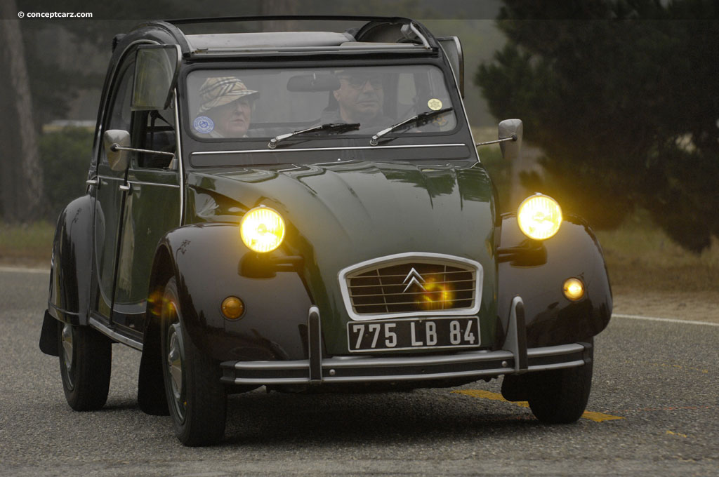 Auction Results And Data For 1967 Citroen 2cv Charleston