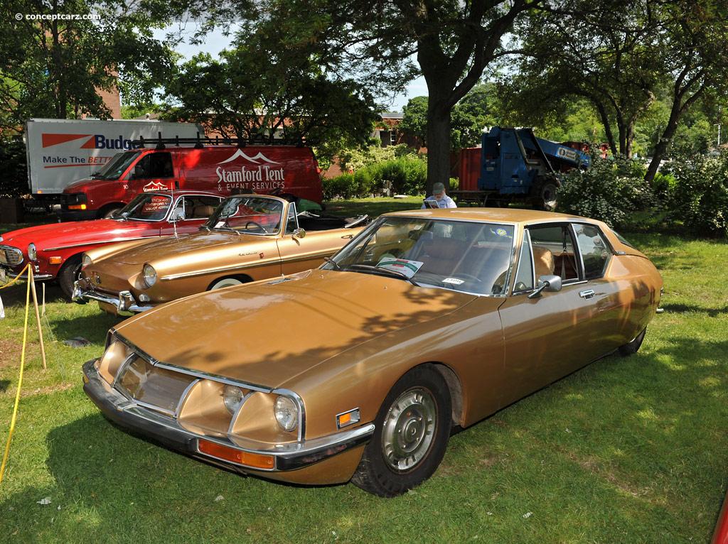 Extreme Auto Sales >> 1971 Citroen SM Maserati Pictures, History, Value ...