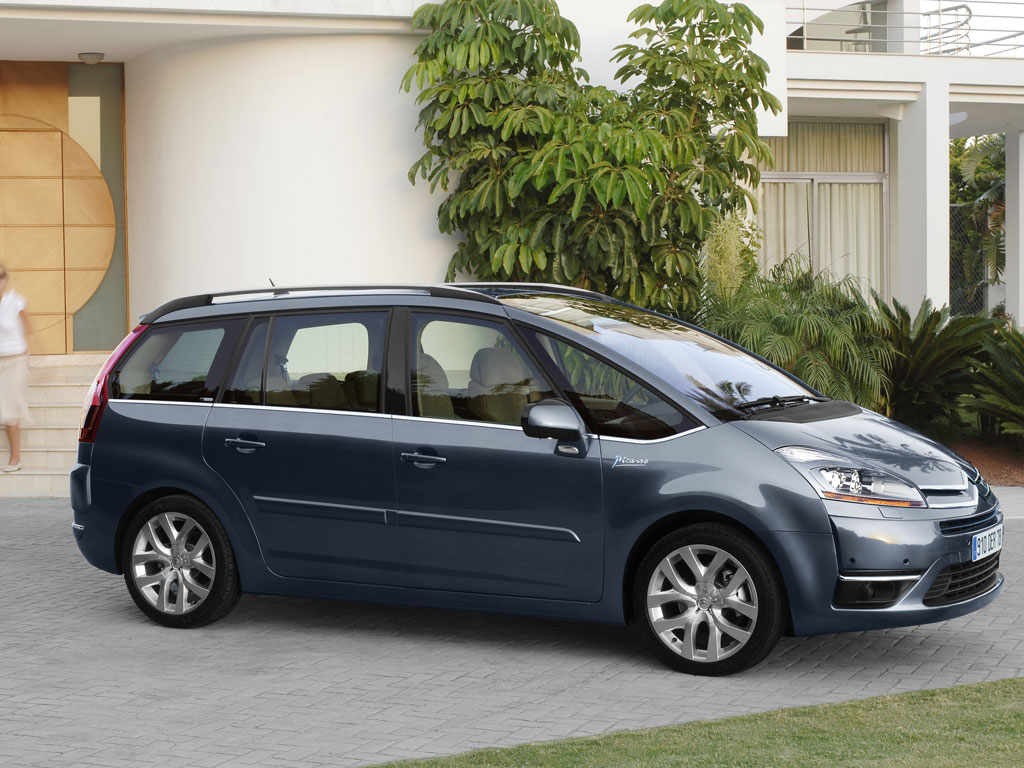 2007 citroen c4 picasso image. Black Bedroom Furniture Sets. Home Design Ideas