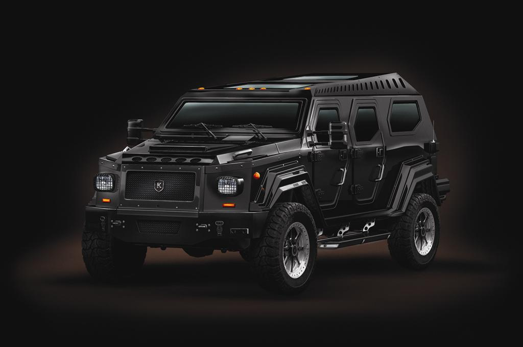 The KNIGHT XV is built using ballistic hardened steel, making it fully ...