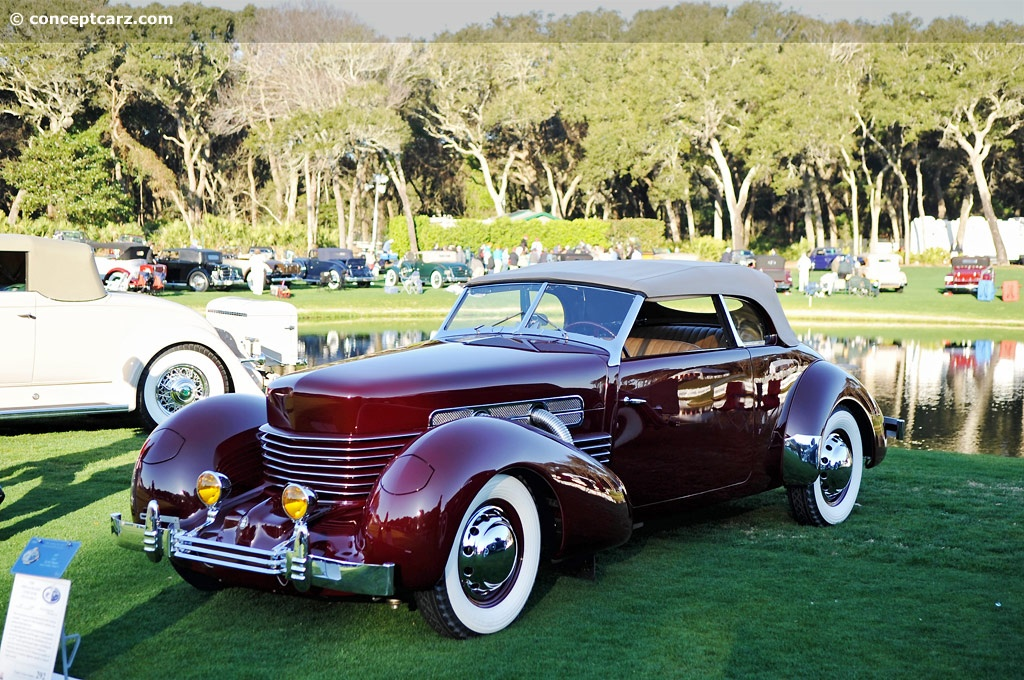 1937 cord 812 event amelia island concours d elegance body