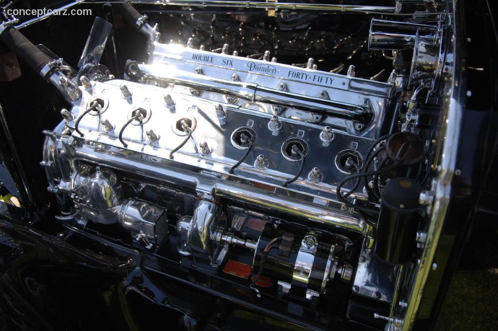 1932 Daimler Double Six (Double 6, 40-50)   Conceptcarz.com