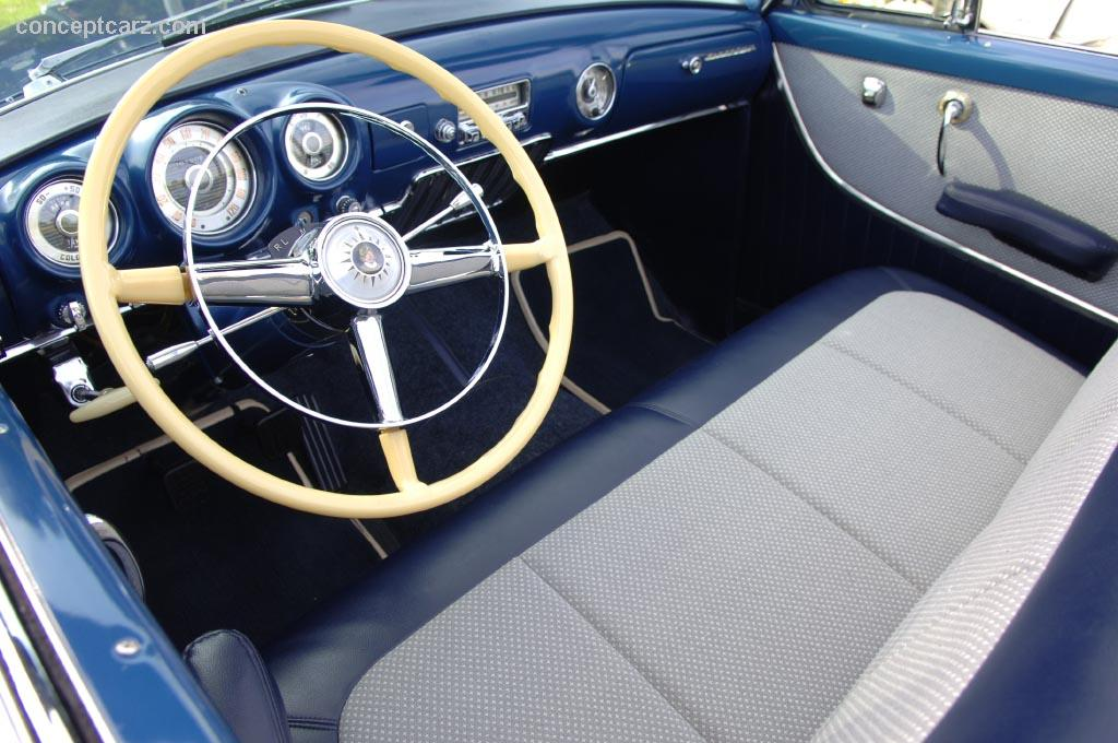 1953 DeSoto FireDome Convertible