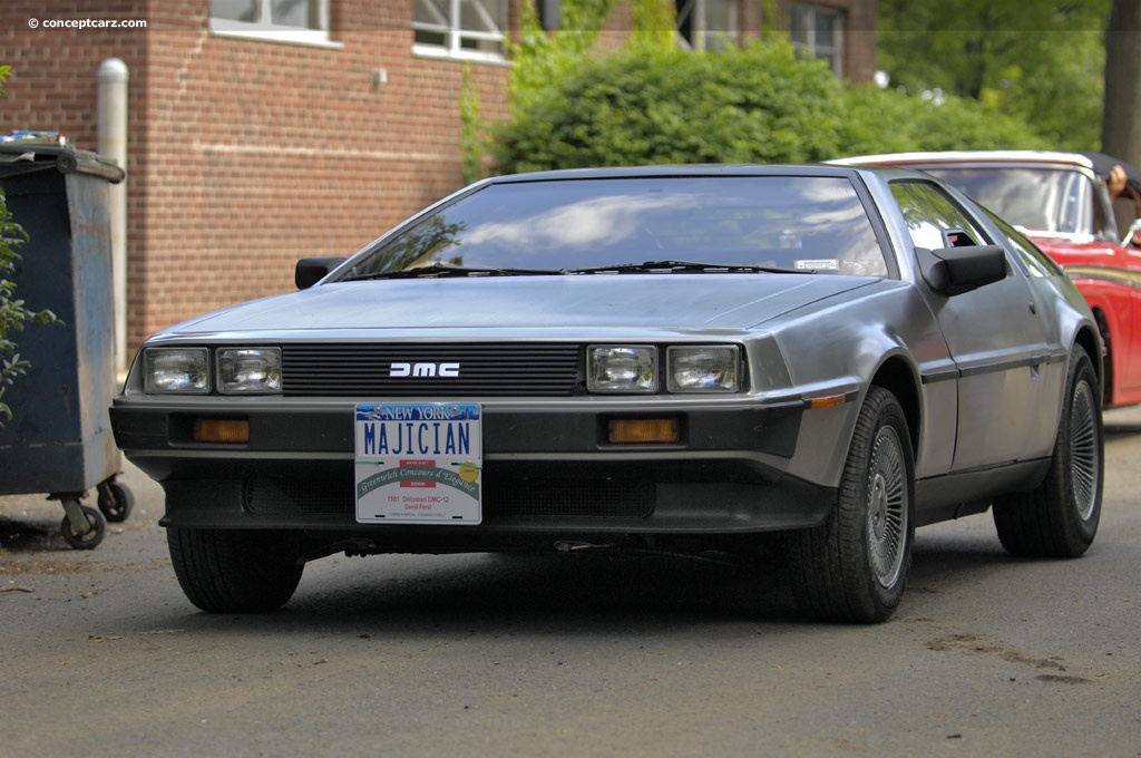 1981 delorean dmc 12 pictures history value research news. Black Bedroom Furniture Sets. Home Design Ideas