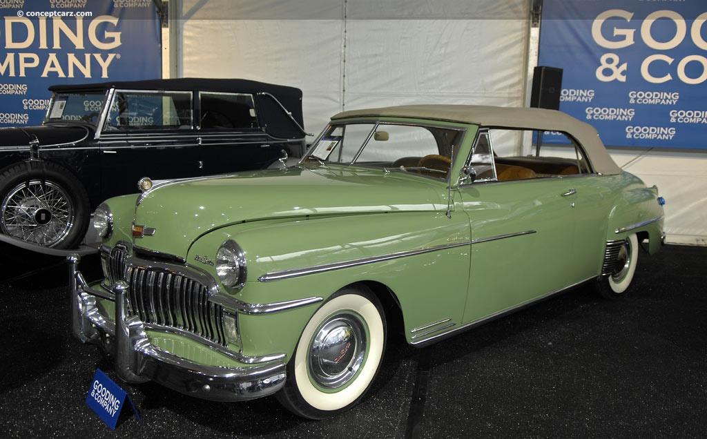 1949 Desoto Custom Series Conceptcarz Com