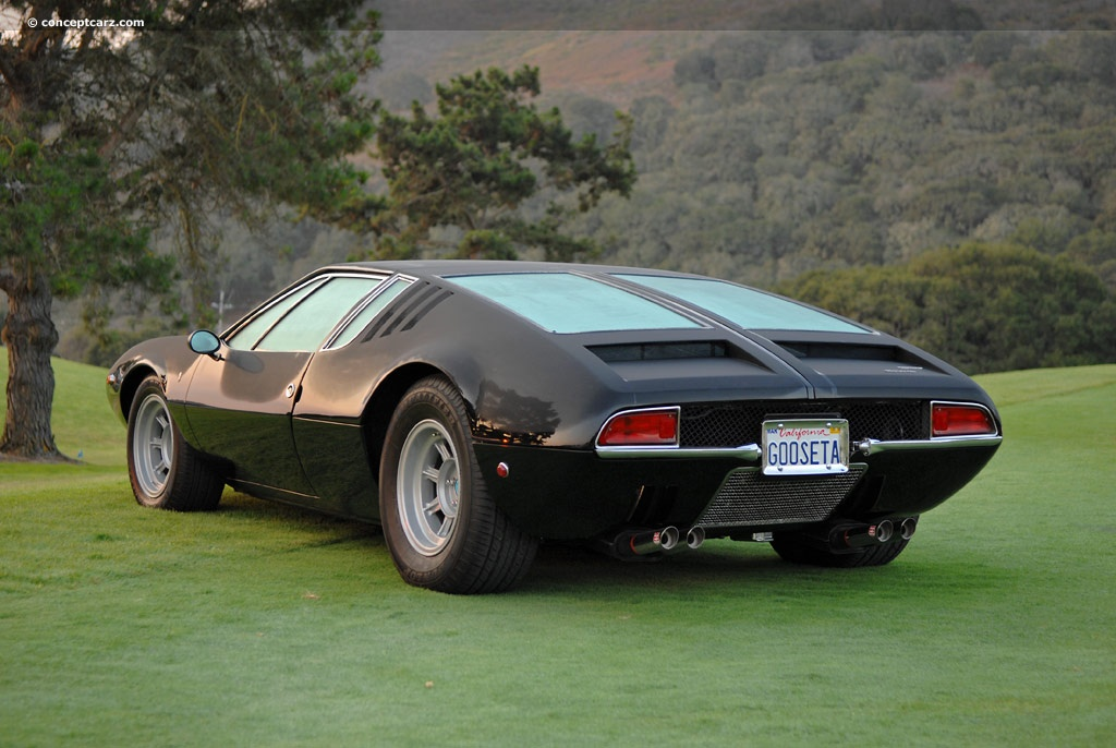Auction Results And Data For 1969 Detomaso Mangusta Conceptcarz Com