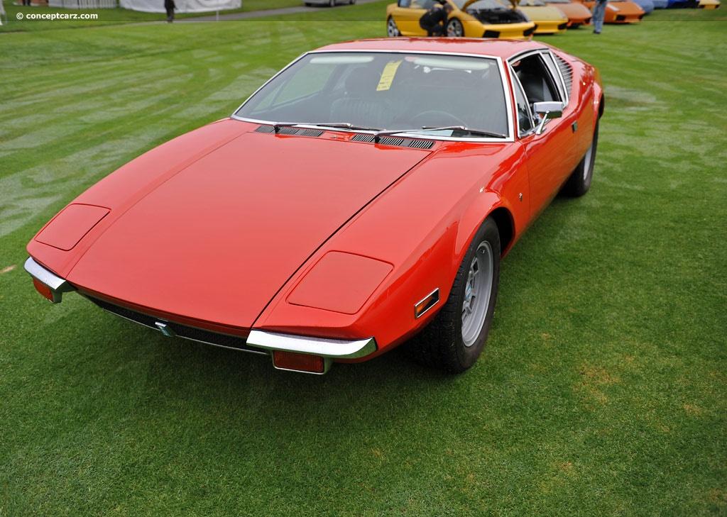 1971 DeTomaso Pantera  conceptcarzcom