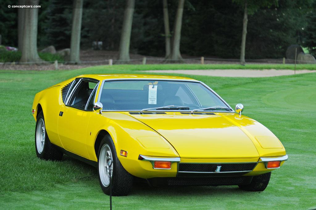 Detomaso Pantera For Sale >> 1971 DeTomaso Pantera - conceptcarz.com