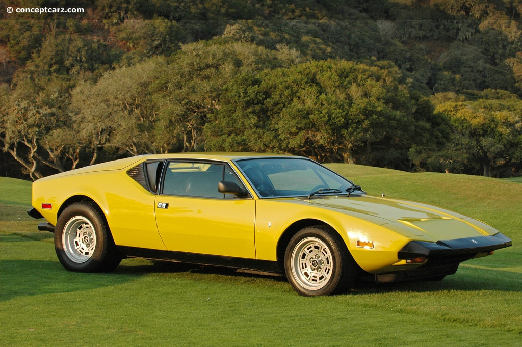 Auction Results And Data For 1972 Detomaso Pantera