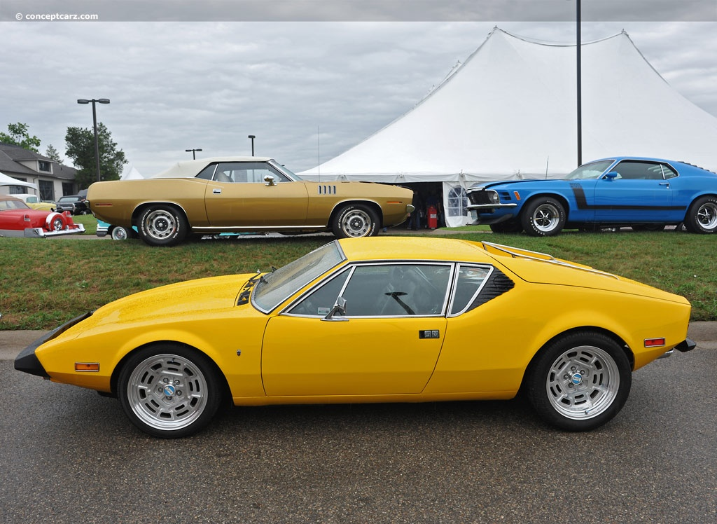 Auction results and data for 1974 DeTomaso Pantera II ...