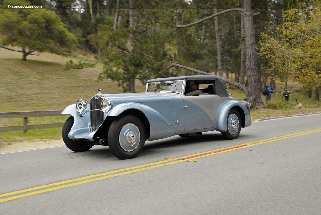 1932 Delage D8S (D8 SS...