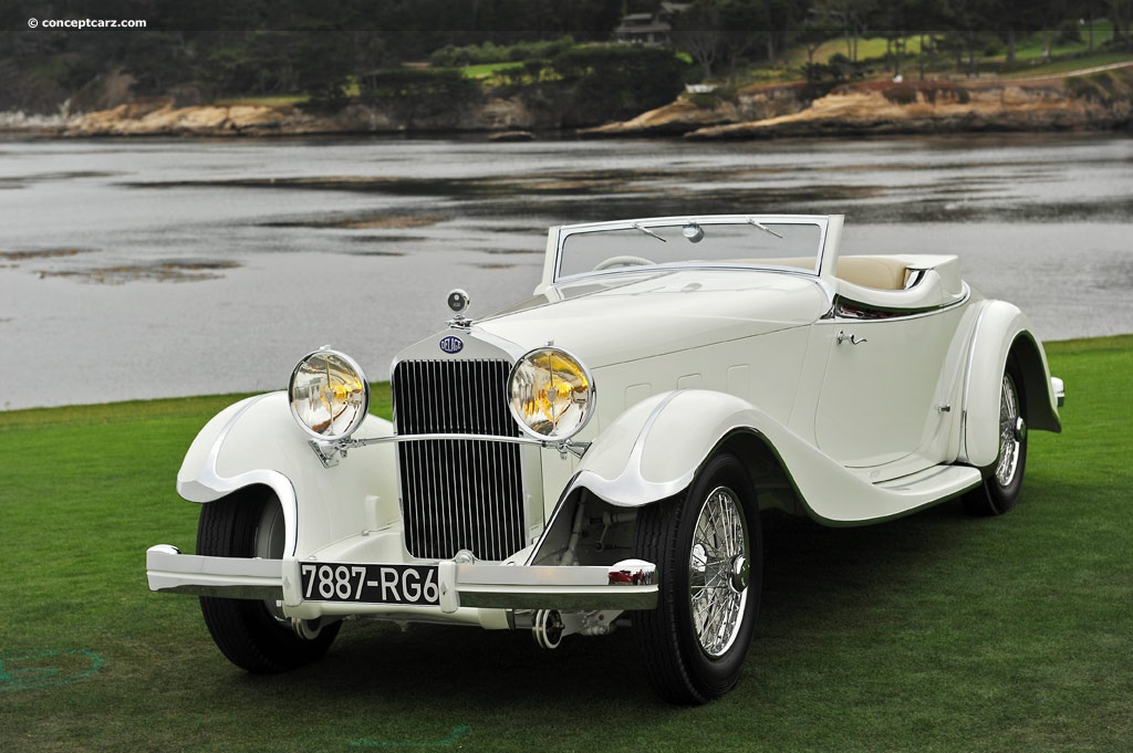 1933 Delage D8S - conc...