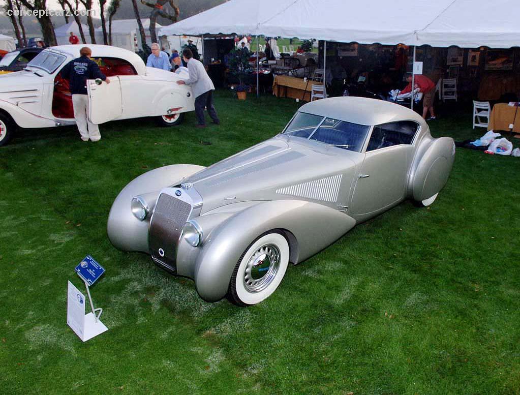 1939 Delage D8-120 S - Conceptcarz