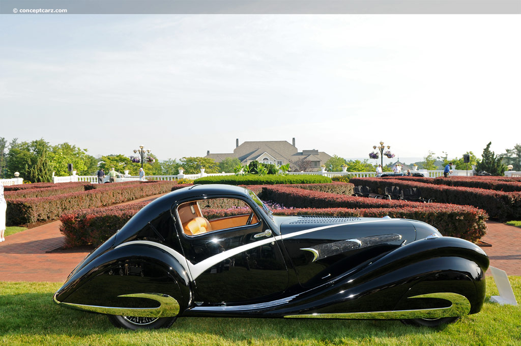 Auction Results And Data For 1936 Delahaye Type 135