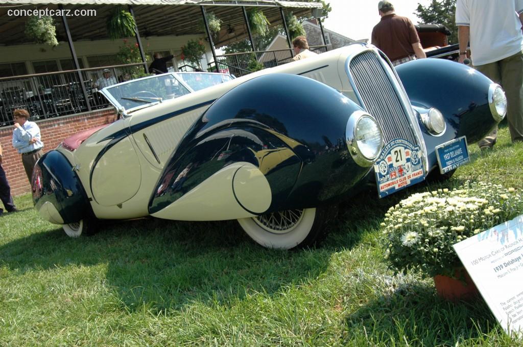 1939 delahaye type 135 m   conceptcarz