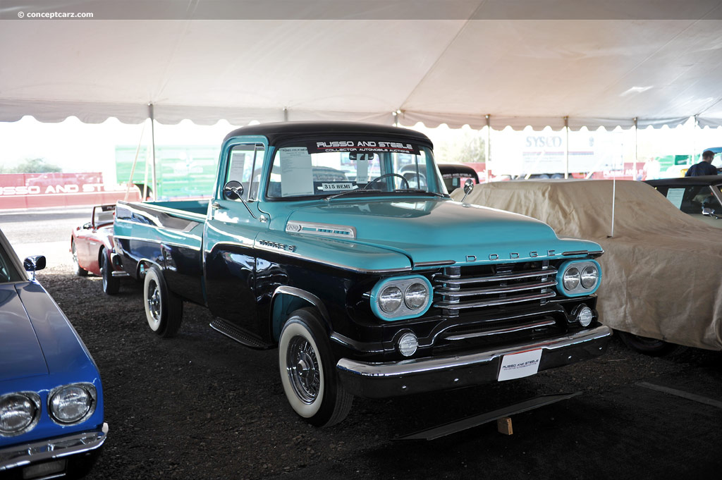 1958 Dodge D 100 Sweptside Pictures History Value