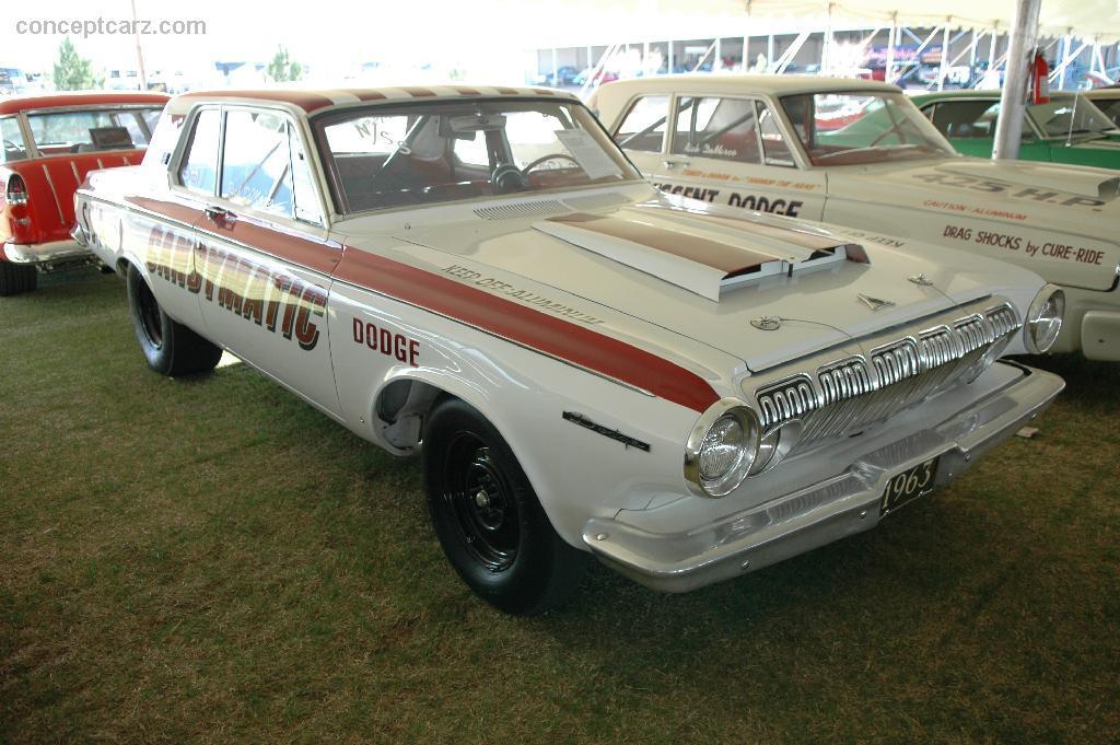 1963 Dodge 330 Lightweight Superstock Conceptcarz