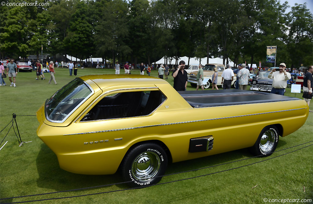 Dodge Deora Concept Truck Pictures To Pin On Pinterest