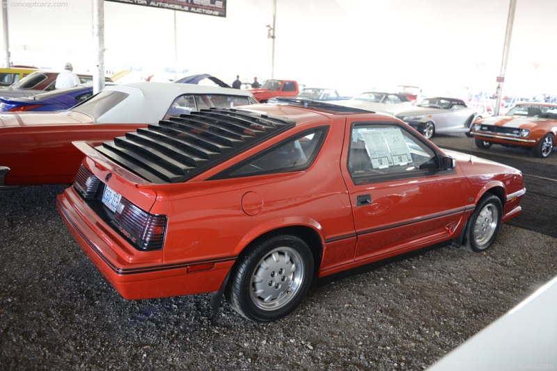 1986 Dodge Shelby Charger Image Chassis Number
